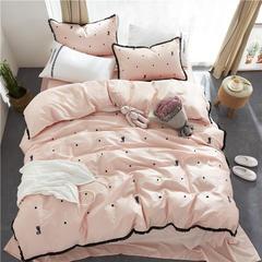 60长绒棉绣花小清新款 1.8m(6英尺)床 富贵猫