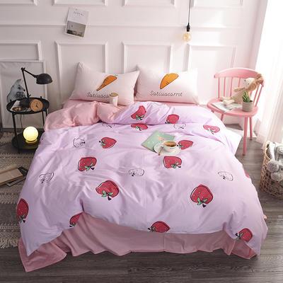 简?#23478;?#23478;第四季 床笠款2.0m床 小草莓
