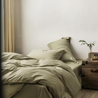 2020新款130*70纯色全棉单品床单 180cmx230cm 7山葵