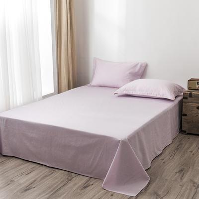 2020新款130*70纯色全棉单品床单 180cmx230cm 8秋樱