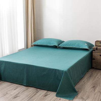 2020新款130*70纯色全棉单品床单 180cmx230cm 9千草