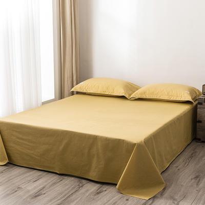 2020新款130*70纯色全棉单品床单 180cmx230cm 12栀子