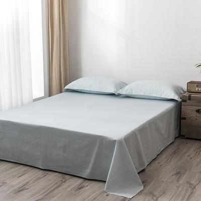 2020新款130*70纯色全棉单品床单 180cmx230cm 13月白