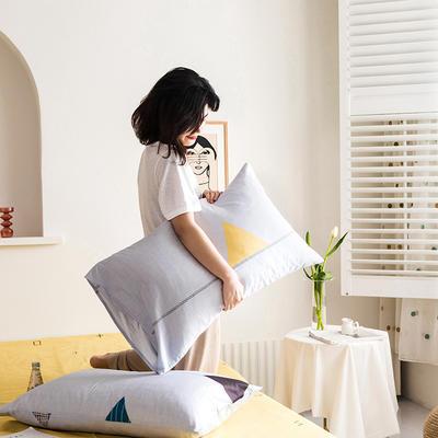 2020新款全棉印花单品枕套 48cmX74cm/对 轻奢时代
