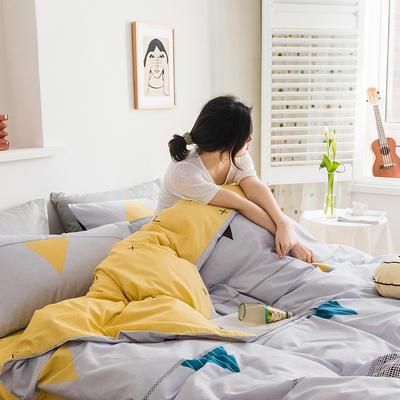 2020新款全棉印花单品床笠 150cmx200cm 轻奢时代