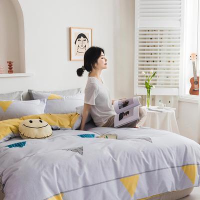 2020新款全棉印花单品床单 180cmx230cm 轻奢时代
