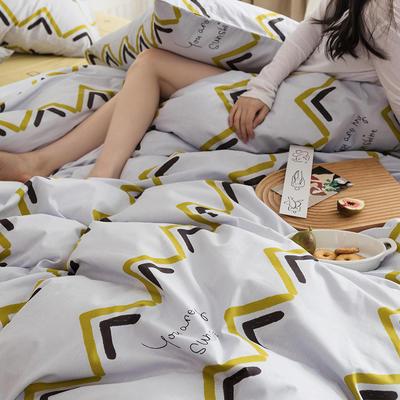 2020新款全棉印花单品床单 180cmx230cm 协奏曲