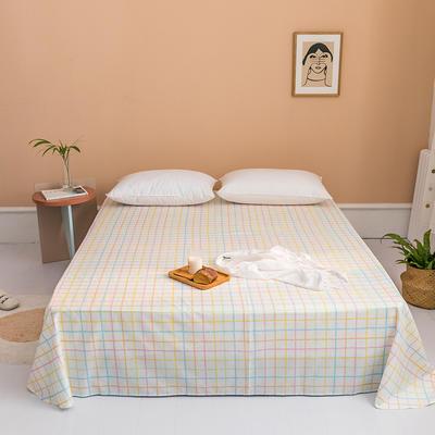 2020新款全棉印花单品床单 180cmx230cm 牛油果