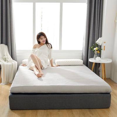 2019新款乳胶加海绵床垫-加厚10厘米 0.9m 经典灰