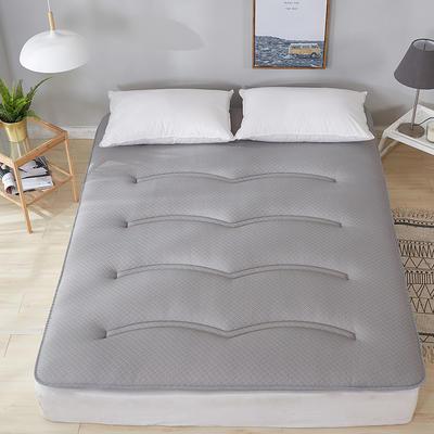 2019新款针织绗缝床垫 0.9m 双面针织绗缝灰色