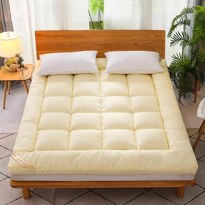 2020新款磨毛3D羽丝立体床垫 0.9*2.0m 米黄