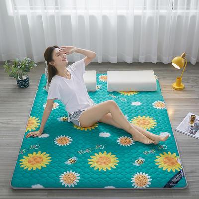 2021新款  艾草助眠多功能睡垫 1.0m床 向日葵