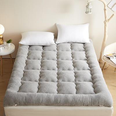 2021新款羽丝绒立体床垫 1.0m 浅灰