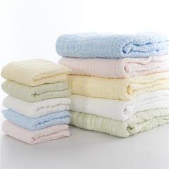 【微】水洗纱布 套巾白色