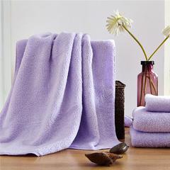 棉花糖套巾 浅紫