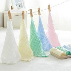 皱皱纱纯色方巾-袋装 方巾五色组合袋装