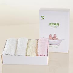 皱皱纱纯色童巾-礼盒装 随机