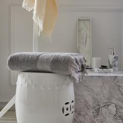 巴克艾加大浴巾 灰色
