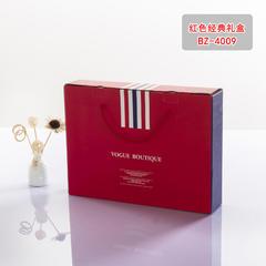 百花毛巾包装 百花毛巾产品礼盒包装 红色经典礼盒