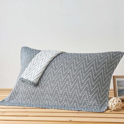 珍珠岛枕巾 灰色