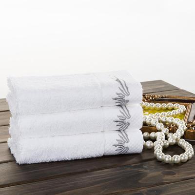 宾馆铂金段 方巾:单条方巾白色