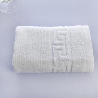 宾馆白 毛巾:单条毛巾白色
