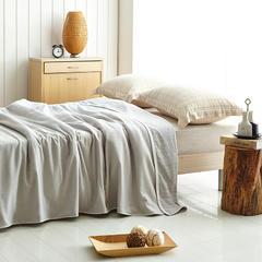 朴素之美 纱布毯 150cmX200cm 灰色