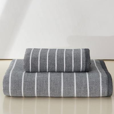 良品生活毛巾 灰色