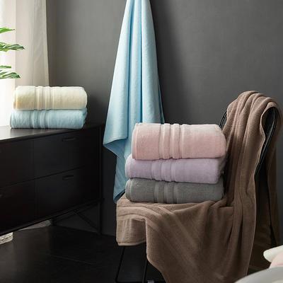蓓羅莎加大浴巾90*180 暗粉色