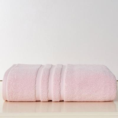 蓓罗莎加大浴巾 暗粉色