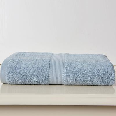 素色生活浴巾 灰色