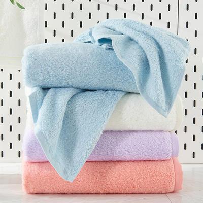 新棉花糖浴巾 白色
