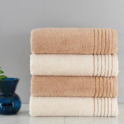 有机棉浴巾 棕色