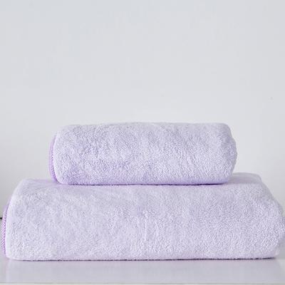 纳米浴巾 浅紫色