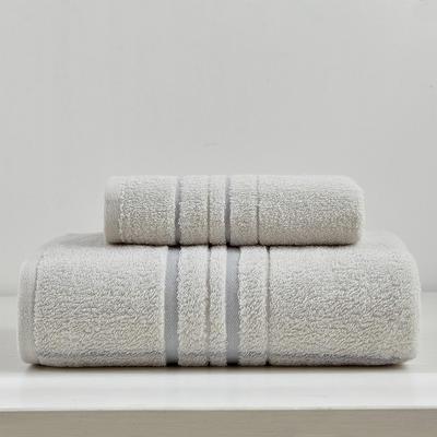 井田套巾 两毛一浴 灰色