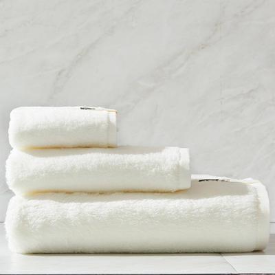 新棉花糖套巾一方一毛一浴 白色