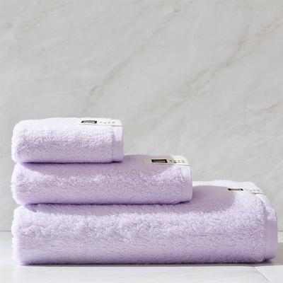 新棉花糖套巾一方一毛一浴 紫色