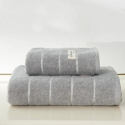 伊洛套巾两毛一浴 灰色