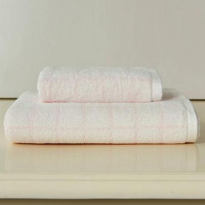 遇见套巾两毛一浴 粉色