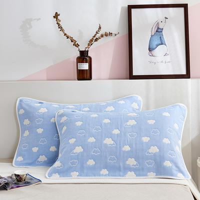 六层纱布枕巾 云间