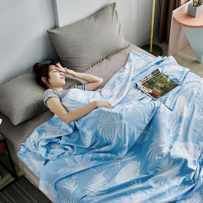双层纱布毛巾被盖毯 200cmx230cm 斑马粉