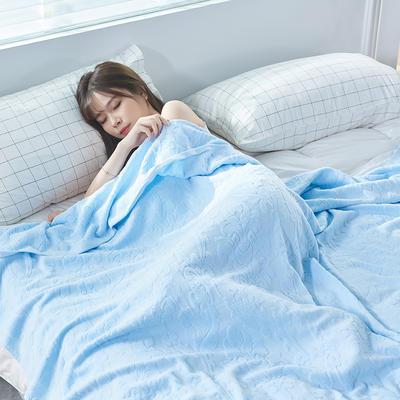 欧典风尚毛巾被盖毯 180cmX(范围200-220)cm 粉