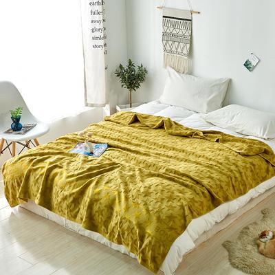 五角星毛巾被盖毯 180cmX(范围200-220)cm 豆沙