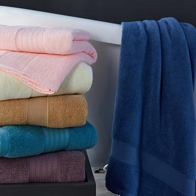 素色浴巾 粉色