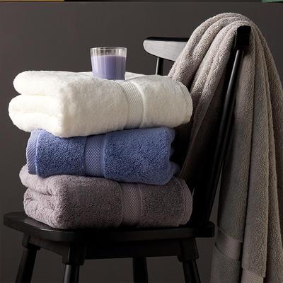 加大加厚 羅馬風情浴巾80*160 白色
