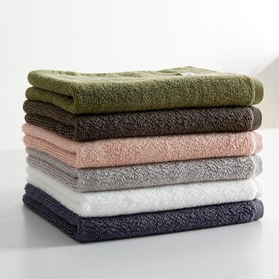 新品抗菌素錦毛巾浴巾任意組合 杏粉色毛巾1條