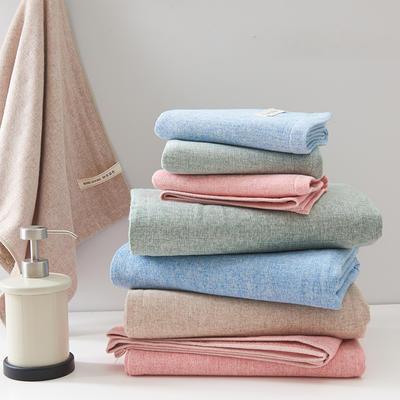 唯 美 浴巾 粉色(毛巾34*75)