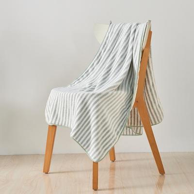 阳离子毛巾浴巾浴帽套装 浅灰浴巾(70*140)