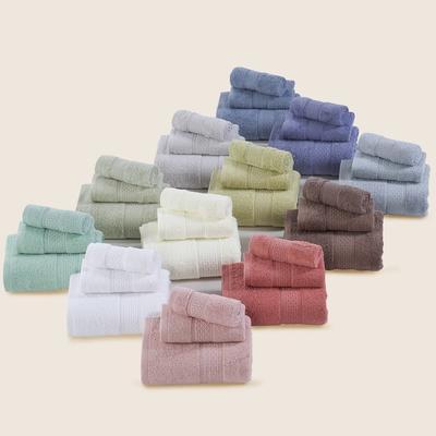 极简风尚套巾 毛巾  浴巾 方巾 浴巾-浅灰色