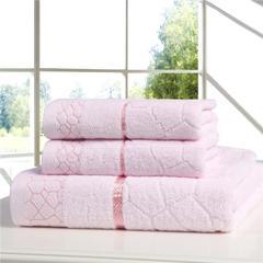 水立方套巾 粉色